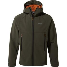 Craghoppers Trent Chroniąca kurtka z kapturem Mężczyźni, woodland green